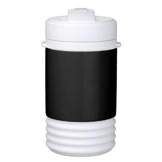 Solid Color: Black Igloo Beverage Dispenser
