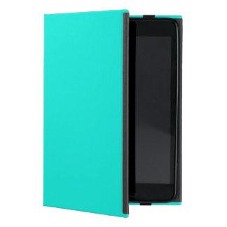 Solid Color: Bright Aqua iPad Mini Case