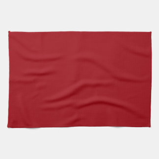 Solid Color: Cranberry Red Towels