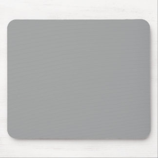 Solid Color: Dark Gray Mouse Pad
