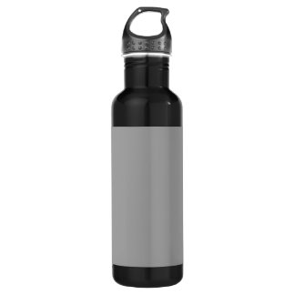Solid Color: Dark Gray 24oz Water Bottle