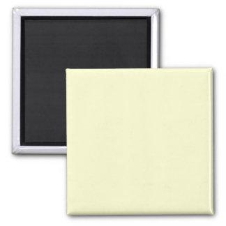 Solid Color FFFFCC Ivory Background Magnet