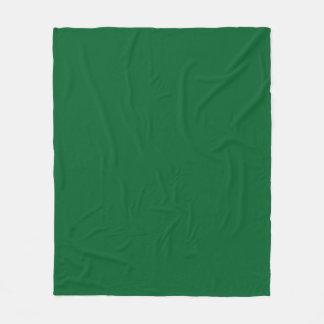 Solid Color: Forest Green Fleece Blanket