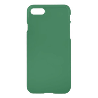 Solid Color: Forest Green iPhone 8/7 Case