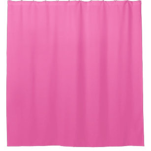 Solid Color Hot Pink 2 Shower Curtain