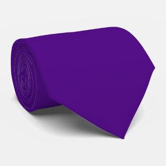 Solid Color Indigo Tie