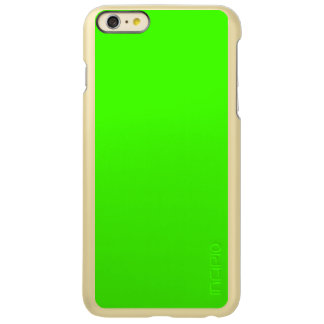 Solid Color: Lime Green Incipio Feather® Shine iPhone 6 Plus Case