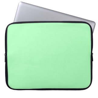 Solid Color Mint Green Computer Sleeves