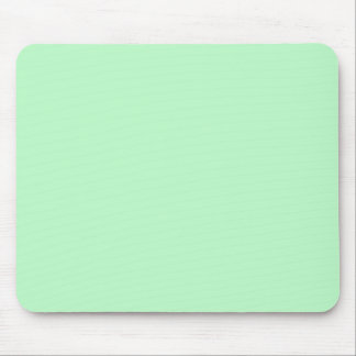 Solid Color: Mint Mouse Pad