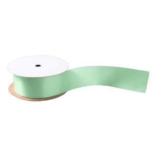 Solid Color: Mint Satin Ribbon