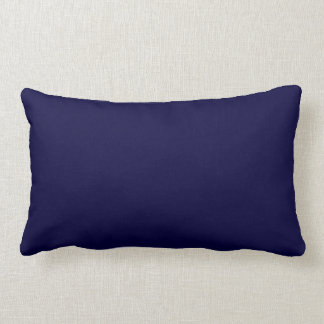 Solid Color Navy Blue Pillows