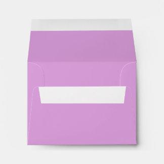 Solid Color Plum Envelopes