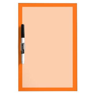 Solid Color: Pumpkin Orange Dry-Erase Board