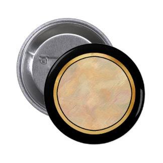 Solid Color Ringer Button - Beige