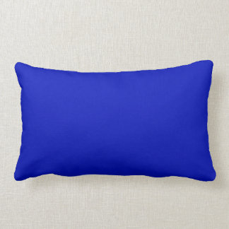 Solid Color: Royal Blue Throw Pillow