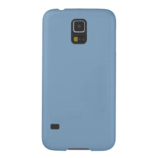 Solid Color Samsung Galaxy S5 Case in Dusk Blue