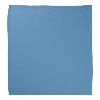 Solid Color Steel Blue Bandana