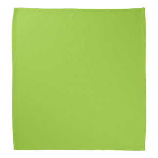 Solid Color Yellow Green Kerchiefs