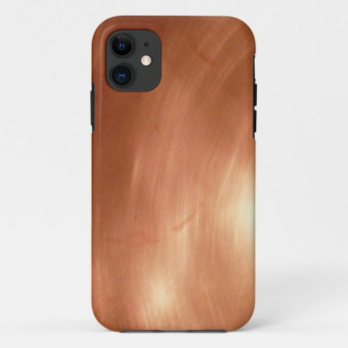 Solid Copper Photograph As iPhone Case Phone Case