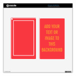 Solid Coral Background Color Background Template Kindle Fire Skin