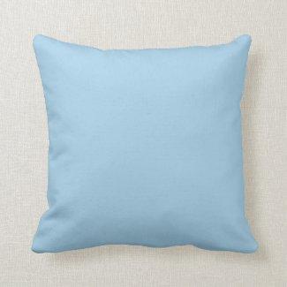 Solid Cornflower Blue Pillows