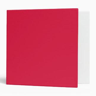 Solid Crimson Binder