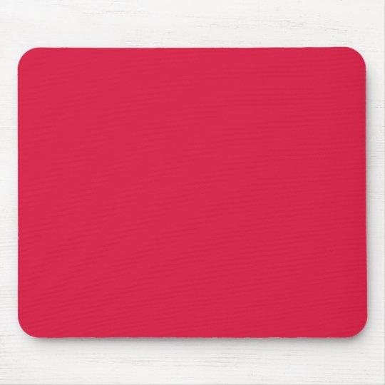 Solid Crimson Mouse Pad