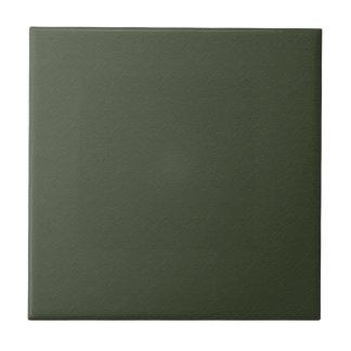 Solid Cypress Green Ceramic Tile