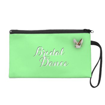 Solid Dark Mint Green Wristlet