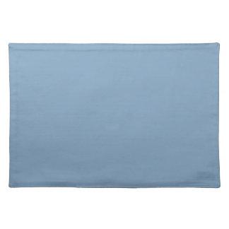 Solid Dusk Blue Table Mat