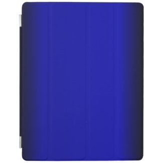 Solid Electric Blue iPad Cover