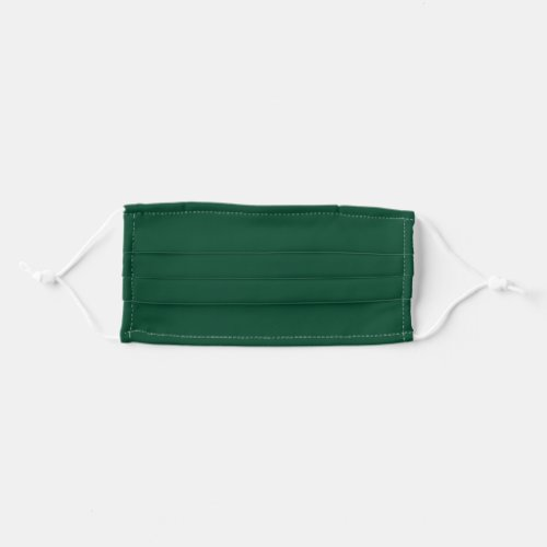 Solid Emerald Green Color Cloth Face Mask