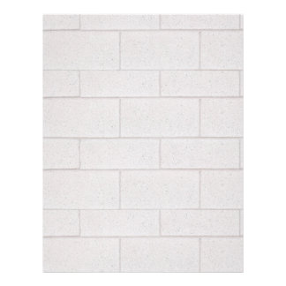 Solid Foundation Cement CinderBlock Wall Letterhead
