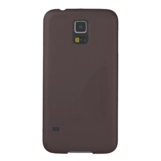 Solid French Roast Brown Cases For Galaxy S5