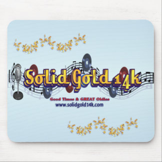 Solid Gold 14k Mousepad