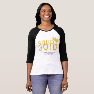 SOLID GOLD 17-18 LOGO SHIRT