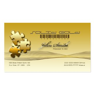Solid Gold Consulting [Elegant] profilecard