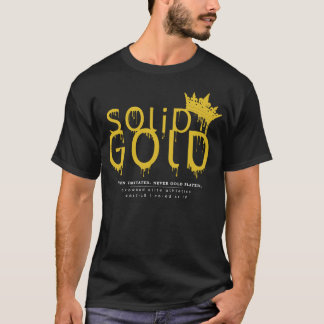 SOLID GOLD: FRONT LOGO T-Shirt