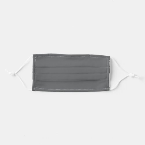 Solid Gray Color Cloth Face Mask