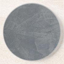 Solid Gray Sandstone Coaster