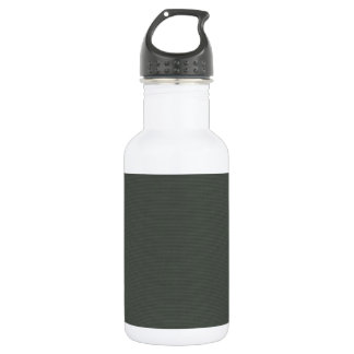 solid-gray SOLID GRAY GREY BACKGROUND TEMPLATE TEX Stainless Steel Water Bottle