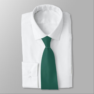 Solid Green Eden Satin Tie