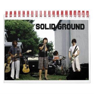 Solid Ground Calendar