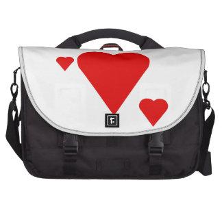 Solid Hearts Groom Laptop Bags