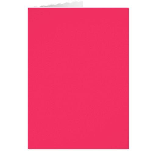 Solid Hot Pink Background Color FF3366 Background Card