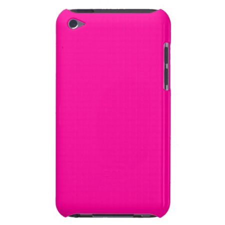 Solid Hot Pink Case-Mate iPod Touch Case