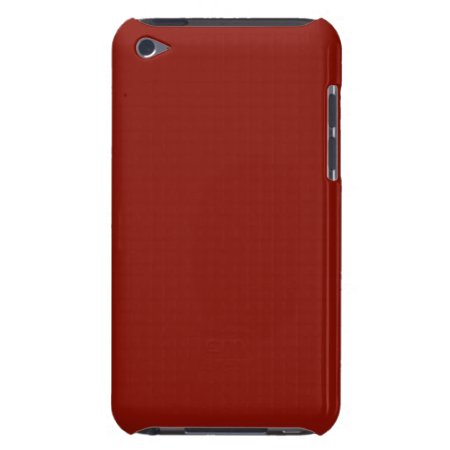 Solid Indian Red iPod Case-Mate Cases