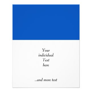 """Solid INKY BLUE 4.5"""" X 5.6"""" Flyer"""