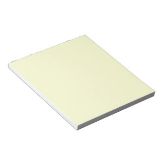 Solid Ivory Notepad