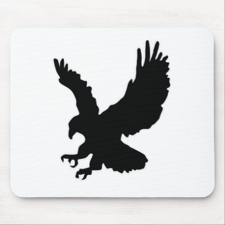 Solid landing and success eagle mouse pad